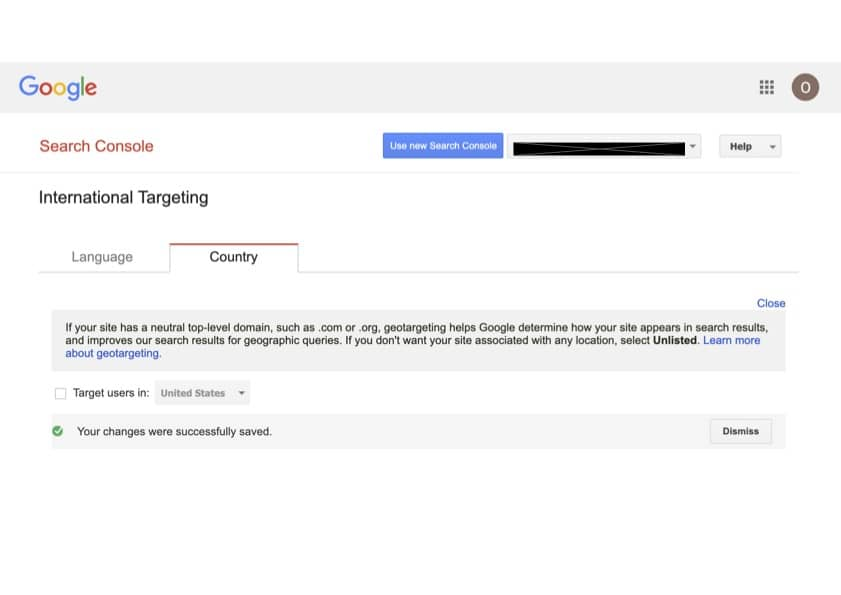 When to Use International Targeting in Google Search Console